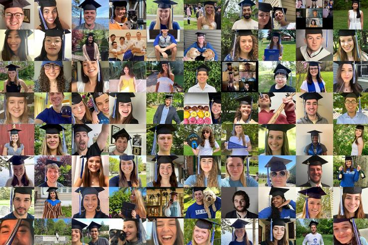 Hamilton Honors Class of 2020 With Virtual Commencement