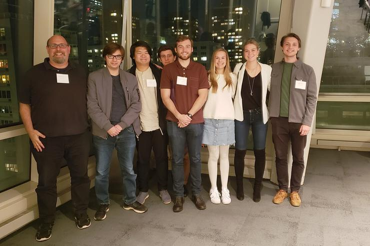 Philosophy Seniors Attend NYU Conference