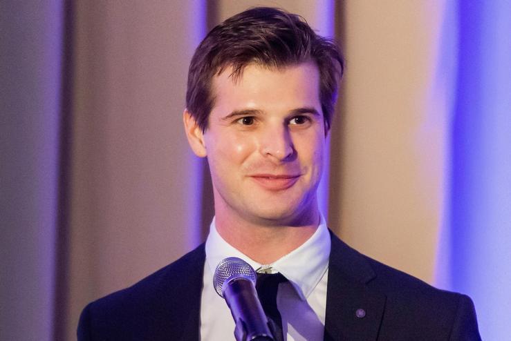 McCullough Shriver '13 Honored for Entrepreneurship