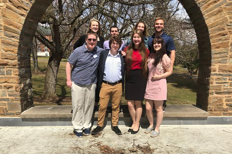 Students Present Work at Classics Conference