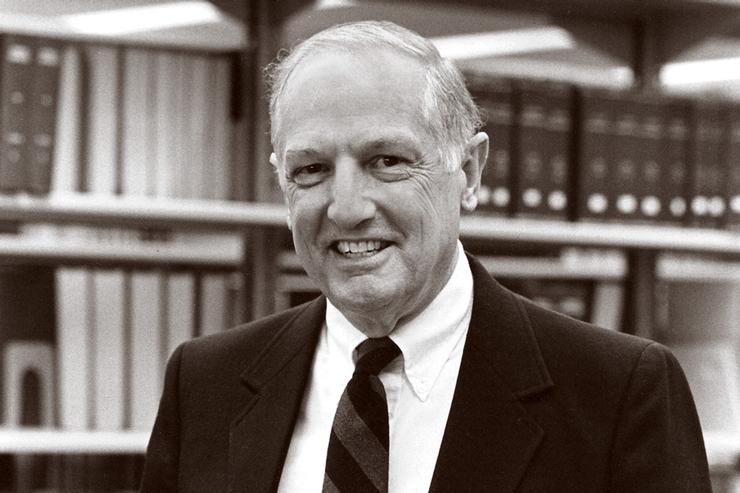 Hamilton Mourns Professor of History Emeritus Edwin B. Lee, Jr.