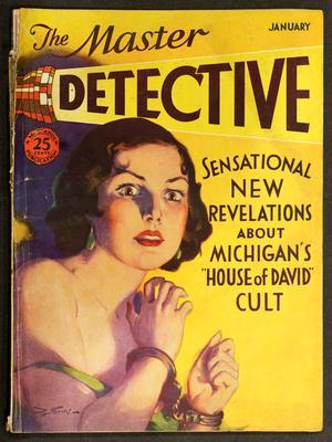 Master Detective Magazine, January 1932