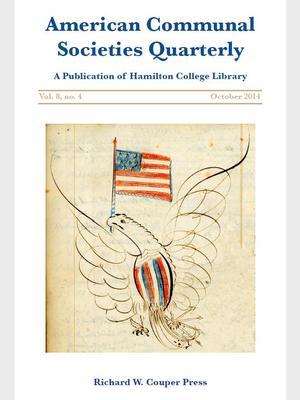 <em>American Communal Societies Quarterly </em>(ACSQ) Cover Oct. 2014