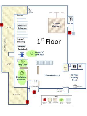 Burke First Floor Plan