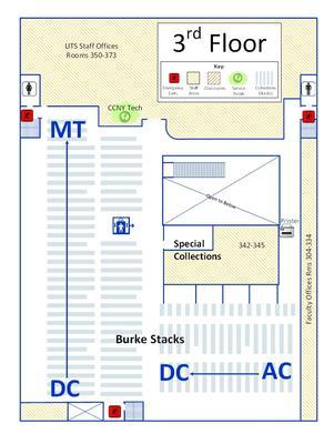 Burke Third Floor Plan