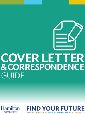 Cover Letter & Correspondence Guide