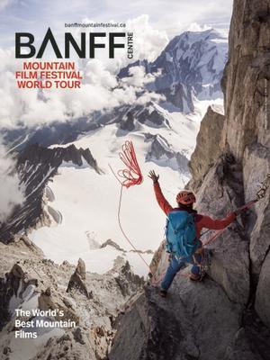 Banff Mountain Film Festival World Tour flyer