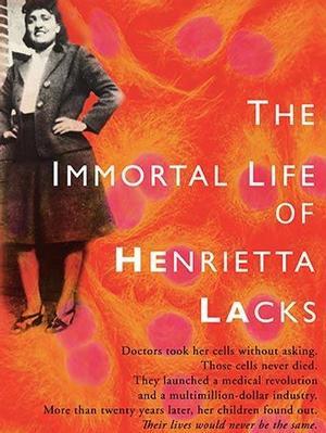 <em>The Immortal Life of Henrietta Lacks </em>book jacket