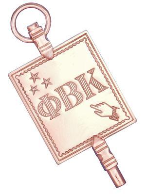 Phi Betta Kappa key