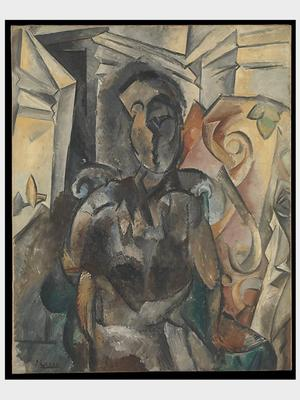 NYC Program-Fall 2017-Woman in an Armchair by Pablo Picasso3x4