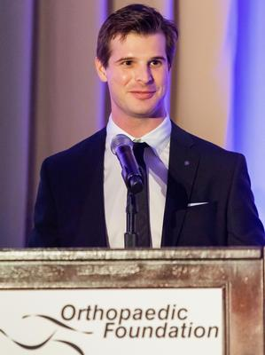 McCullough Shriver '13 at the Orthopaedic Foundation for Active Lifestyles 14th Annual Gala Anniversary
