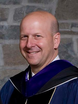 David Solomon '84 at Hamilton College Commencement.