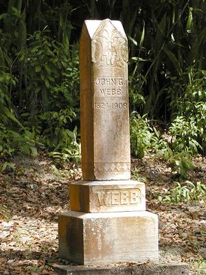 John Webb Memorial Monument