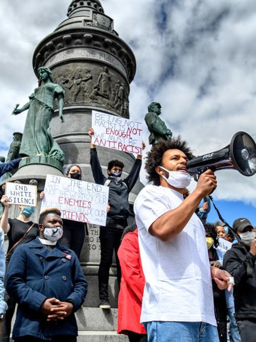 2020, George Floyd protests