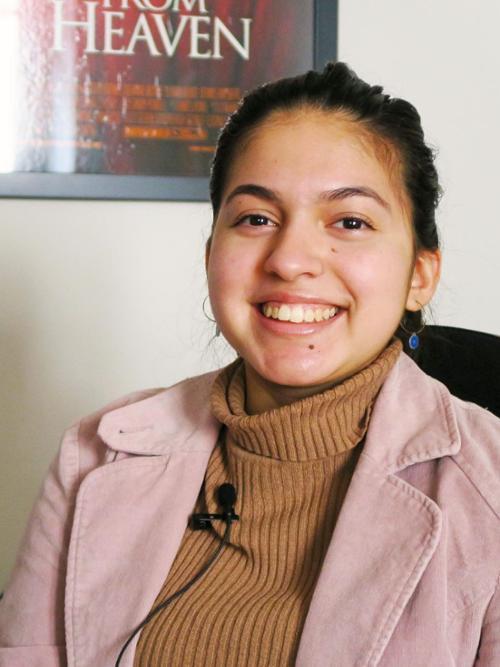 Vale Medina's internship at a movie production company