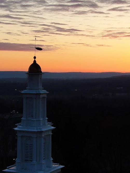 Chapel at sunrise