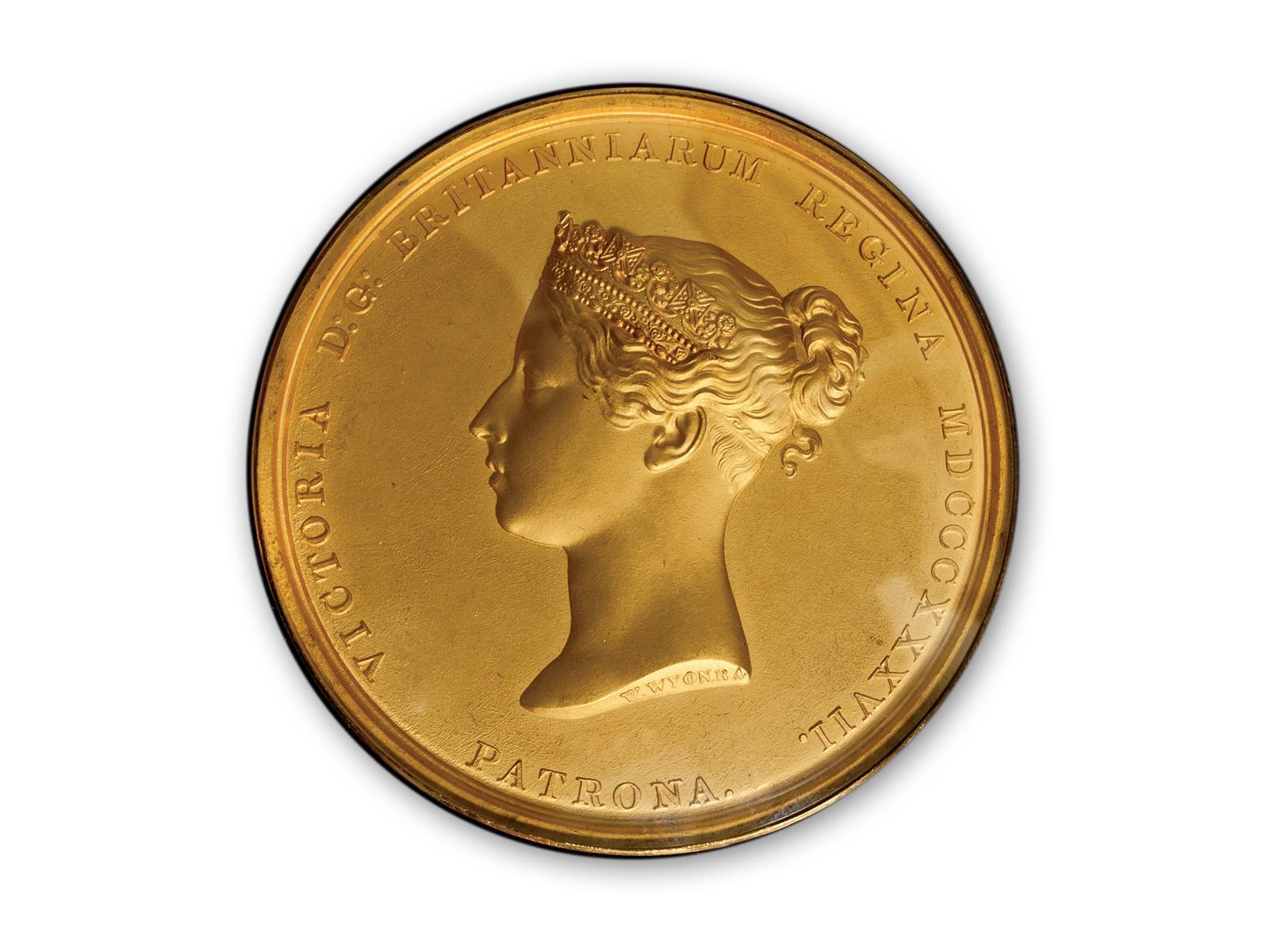 Edward Robinson's 1842 Medal