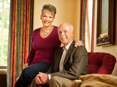 Beth and Joel Johnson '65