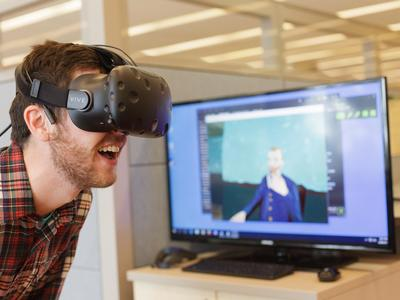 Virtual reality in the Research and Design Studio.