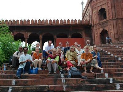 Sacred Center in India