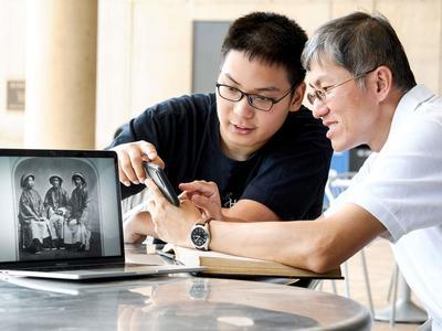 Zhaosen Guo '21 and Wei-Jen Chang