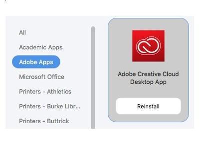 Adobe Install Self Service