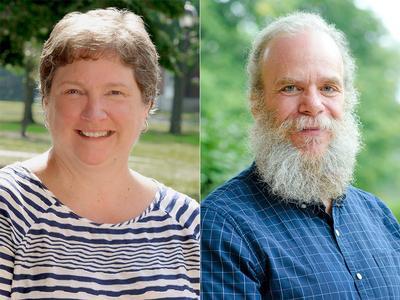 Kristin Strohmeyer and Shay Foley