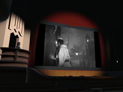 Benshi in Virtual Theater Construction