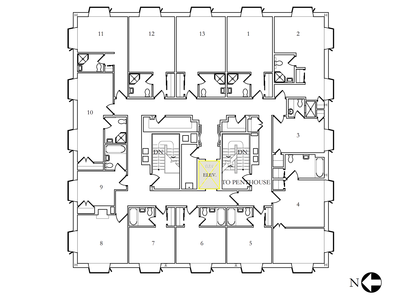 Bristol Center floor plan