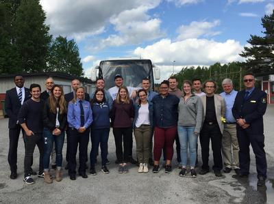 Swedish prison tour