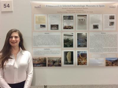 Danielle Reisley '18-GSA Meeting March 2018