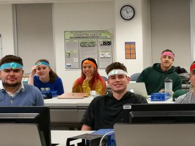 Temperature Sensor Headbands