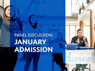 January Admission Panel Discussion