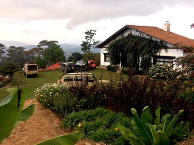 The chalet at the Mazumbai Forest Reserve