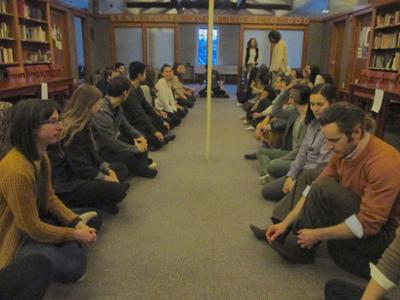Large Group Meditation