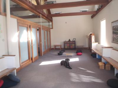 Lily in Meditation Room