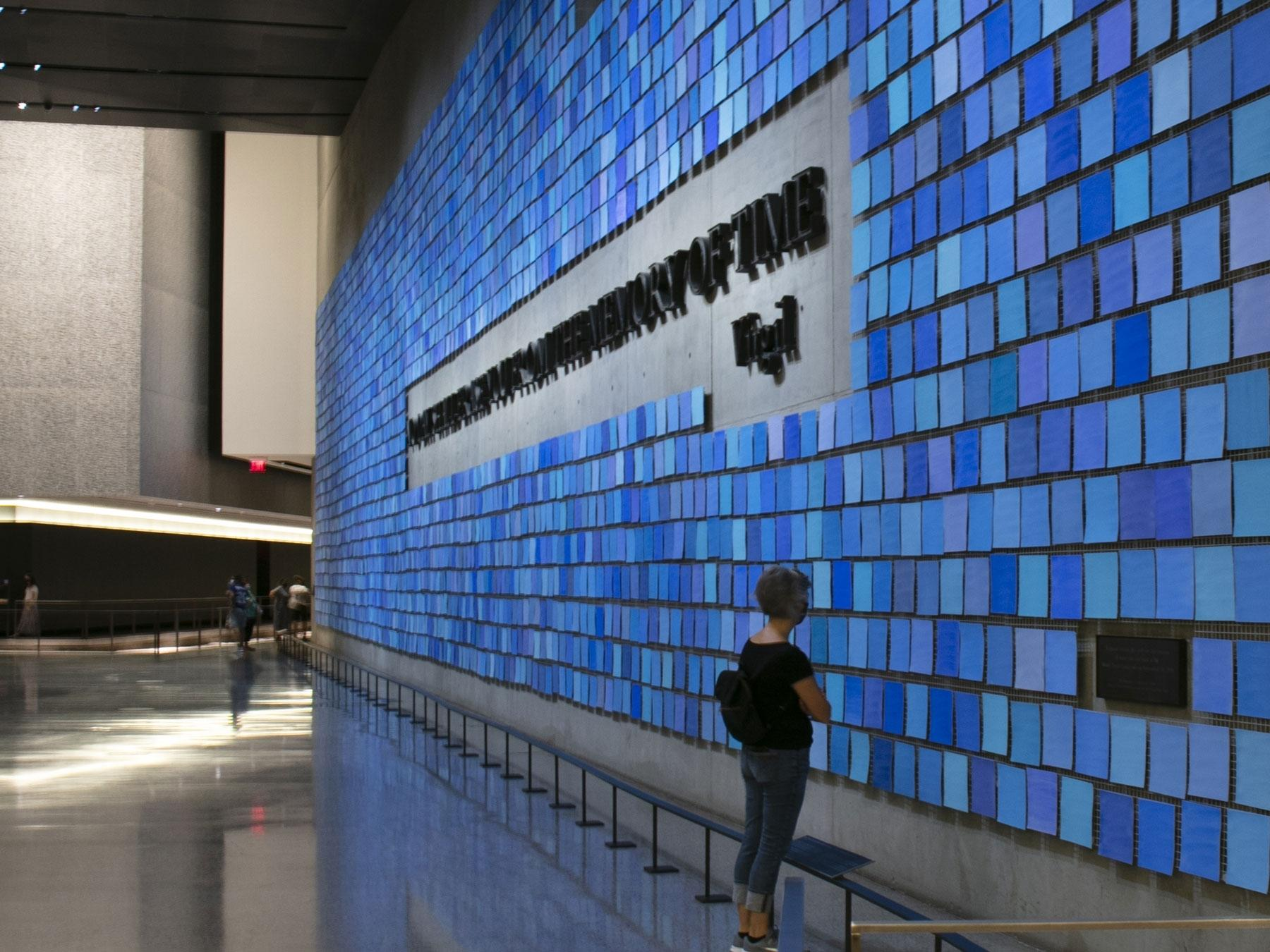 Spencer Finch '85 9/11 Memorial
