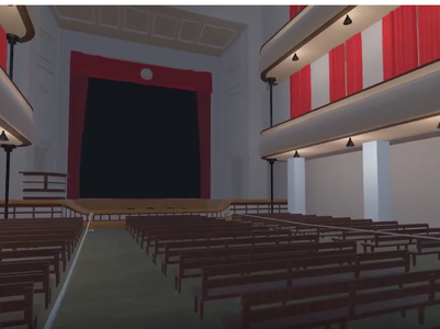 Musashino-kan Virtual Theater Demo