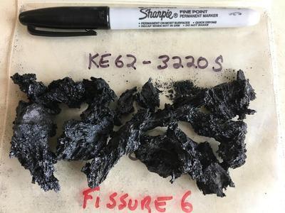 Samples of Hawaii's destructive lava