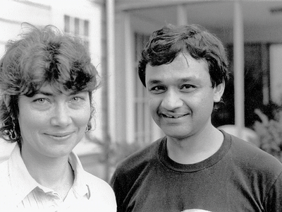 Patricia O'Neill and Agha Shahid Ali