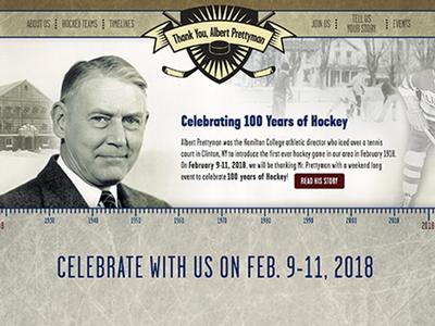 100 Years of Hockey Celebration
