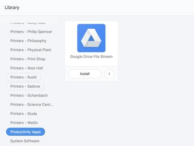 Drive File Stream - Mac