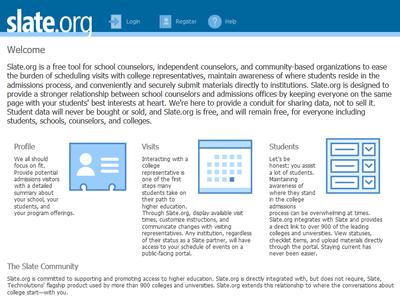 Slate.org Screenshot
