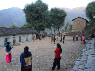 Shree Shanti courtyard