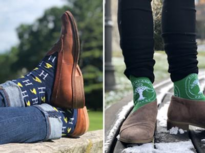Hamilton and Kirkland socks