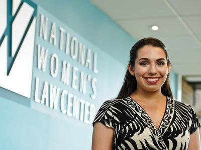 Caroline Reppert '17 interned at the National Women's Law Center, Washington, D.C.