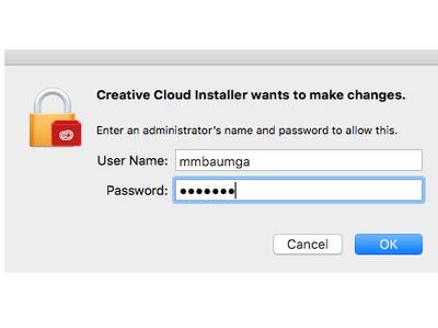 Adobe Mac Installation 2