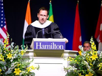 Commencement 2016 Peter Thiel