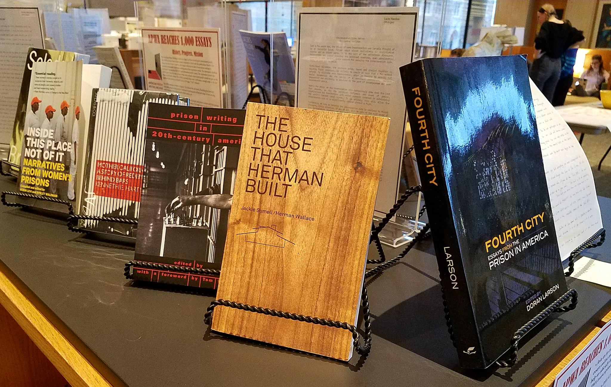 th essay entered into american prison writing archive news  american prison writing archive exhibit in burke library photo vige barrie