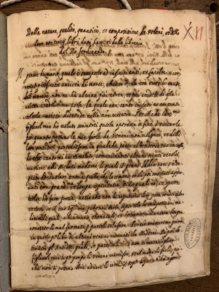 Document from National Library of Venice